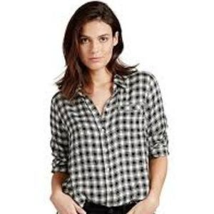 Lucky Brand Womens XL New $79 Boyfriend Fit Shirt